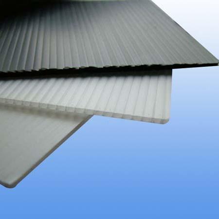 无锡恒宏塑胶特制抗UV黑色中空板  防静电中空板 导电中空板 太阳能电池片垫板