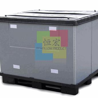 常州PP中空板 中空板围板箱 塑料水果箱 汽车零部件专用周转箱 锂电池包装箱