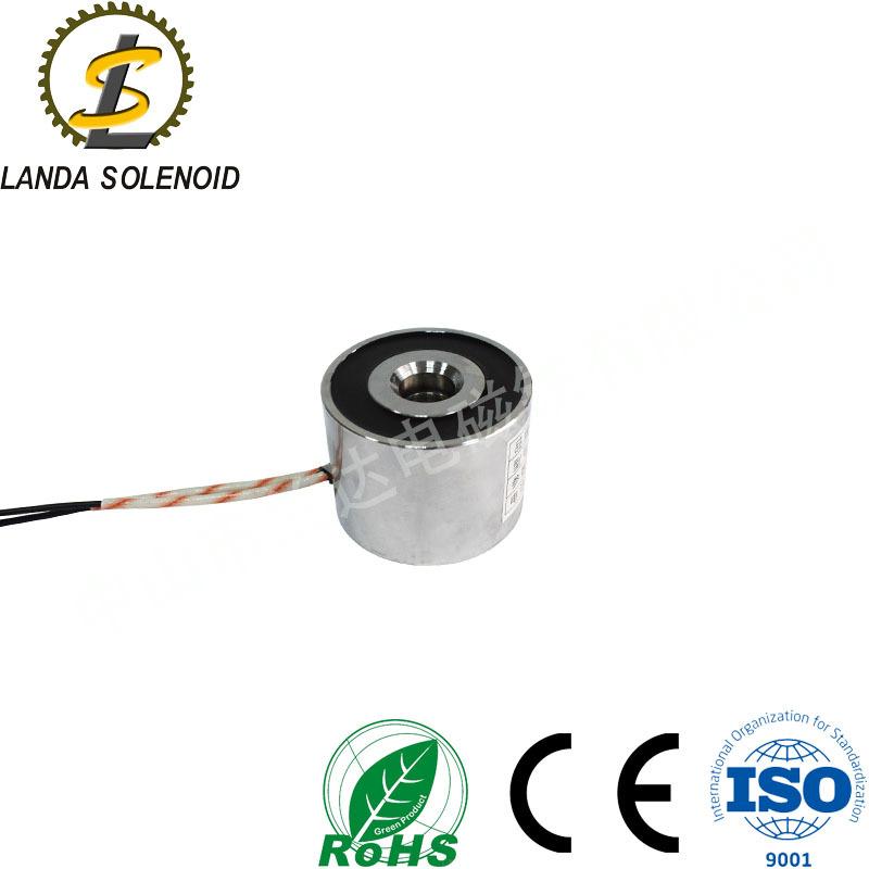 厂家直销家电用吸盘式电磁铁 直流电24V 兰达厂家直销