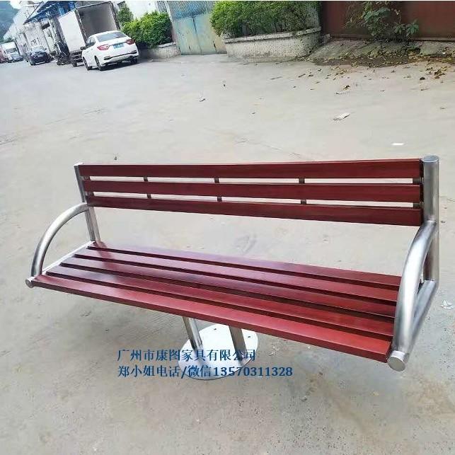 厂家供应户外公园椅 *实木休憩椅休闲长椅