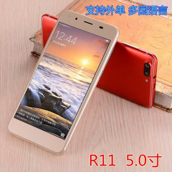 供應 手機R11國產5.0大屏智能手機超薄雙卡低端手機