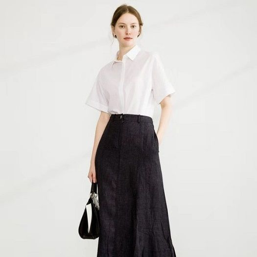 大码女装工厂低价直供紫馨源一手品牌折扣女装货源供应