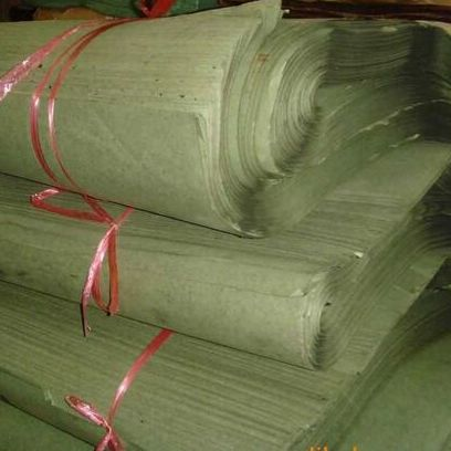沥青条纹防潮纸 95g条纹绿色防潮纸 柏油防潮纸厂家直销