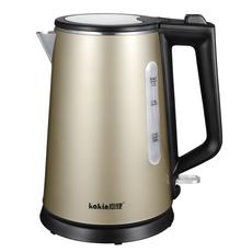 嘉健双层中高端电热水壶304食品级不锈钢英国STRIX温控器烧水壶