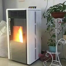 济南 自动上料无噪音生物质颗粒壁炉 厂家直销美观耐用颗粒采暖炉