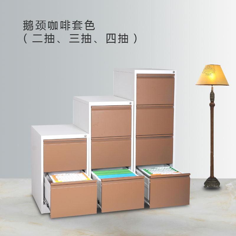 郑州柜之友办公家具卡箱挂劳柜  抽屉文件柜2  3  4屉   低价出售