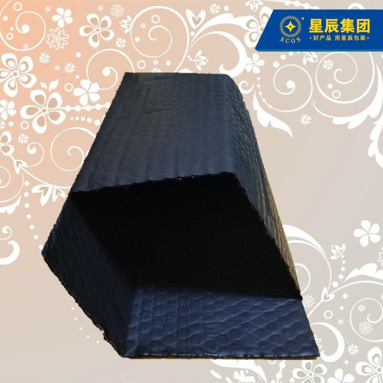 黑色导电膜复合气泡袋 电脑主板保护袋 静电释放防电磁干扰
