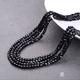 供应 6毫米方形水晶珠 手工DIY串直孔玻璃珠 装饰配件