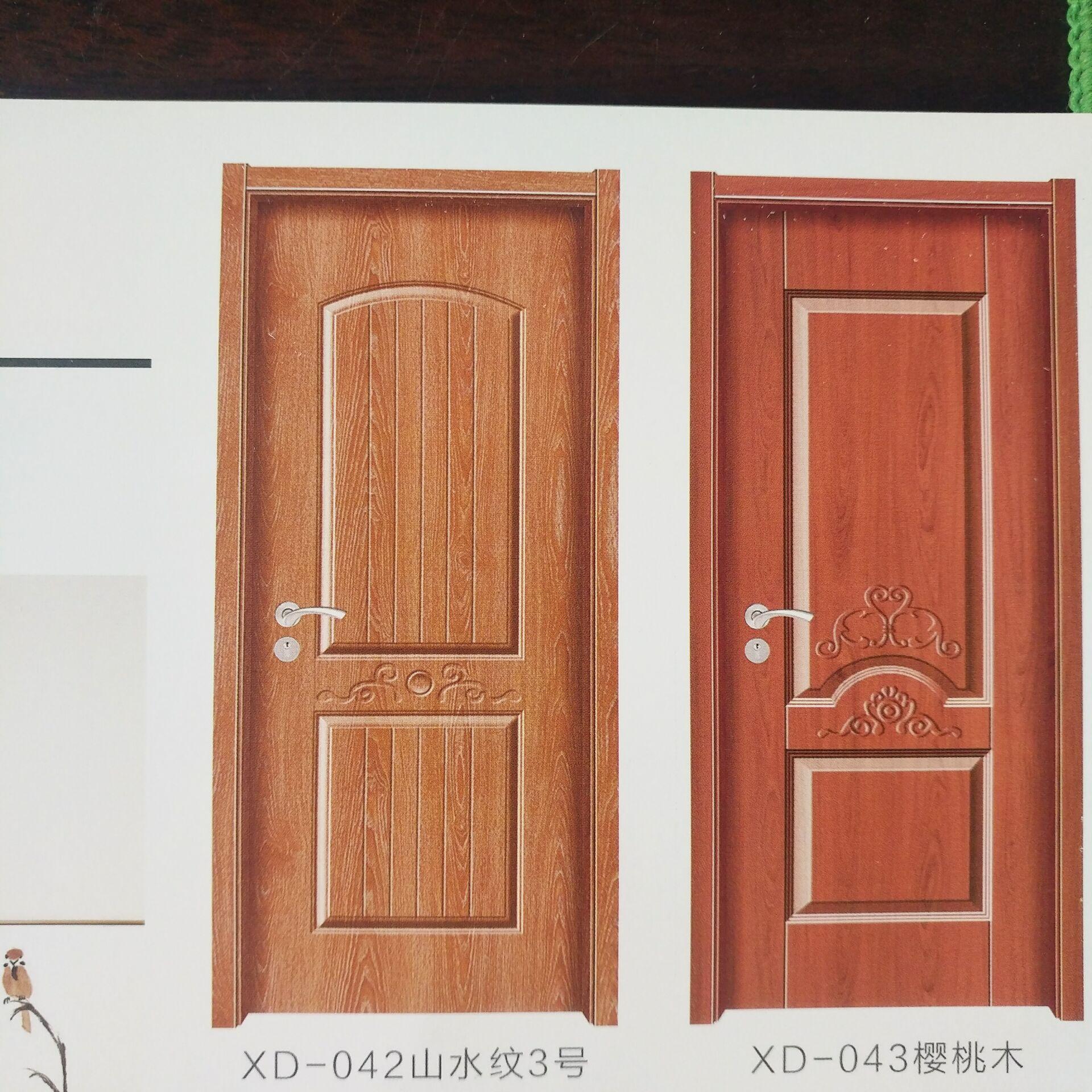 实木套装门 复合实木门 仿古花格