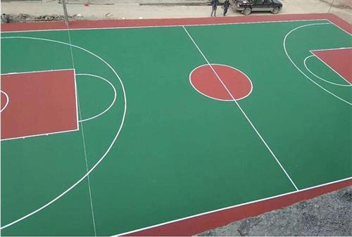 西安康特塑膠(在線咨詢)|韓城籃球場地|塑膠籃球場地鋪裝