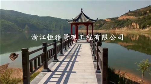 浙江恒雅景观工程有限公司_温州仿木护栏_仿木护栏厂家