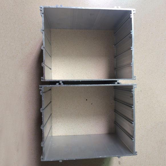 供应 铝制品 铝型材提交图 挖矿机铝型材
