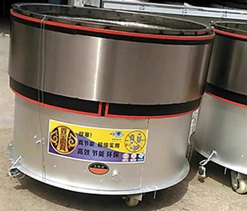 水煎包锅、永城金宝机械厂家(图)、旋转水煎包锅