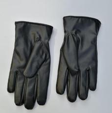 供应 冬季触屏男士仿皮手套加绒加厚保暖防风防水