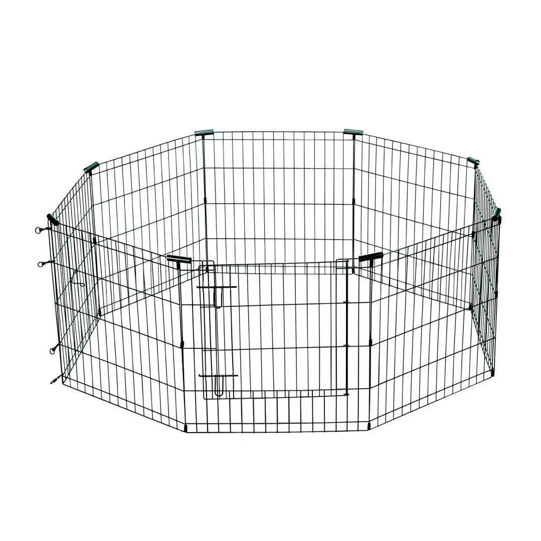 栅栏式狗笼适合多个幼犬