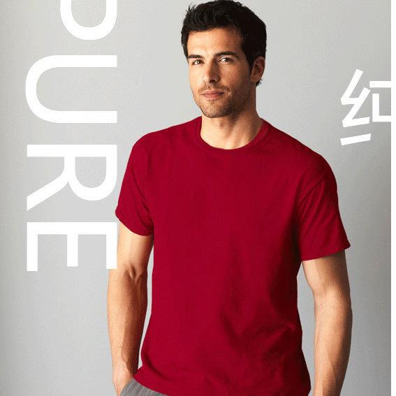 吉尔丹63000纯棉空白T恤衫个性图案定制厂家直销T恤衫批发