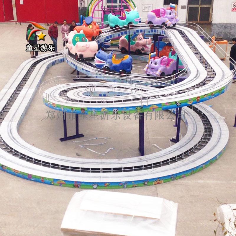迷你穿梭造型美观的车辆组成童星游乐儿童小型室外游乐设备