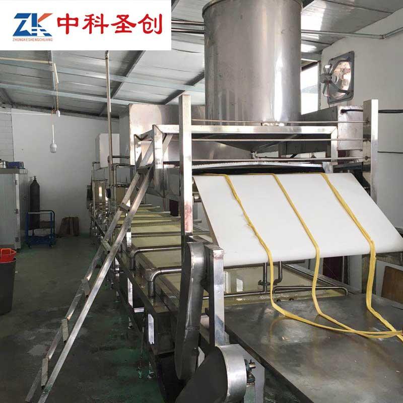 中科圣创腐竹机械-广东腐竹机工厂-全自动化腐竹生产线