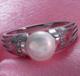 供應爆款飾品珍珠鋯石首飾戒指
