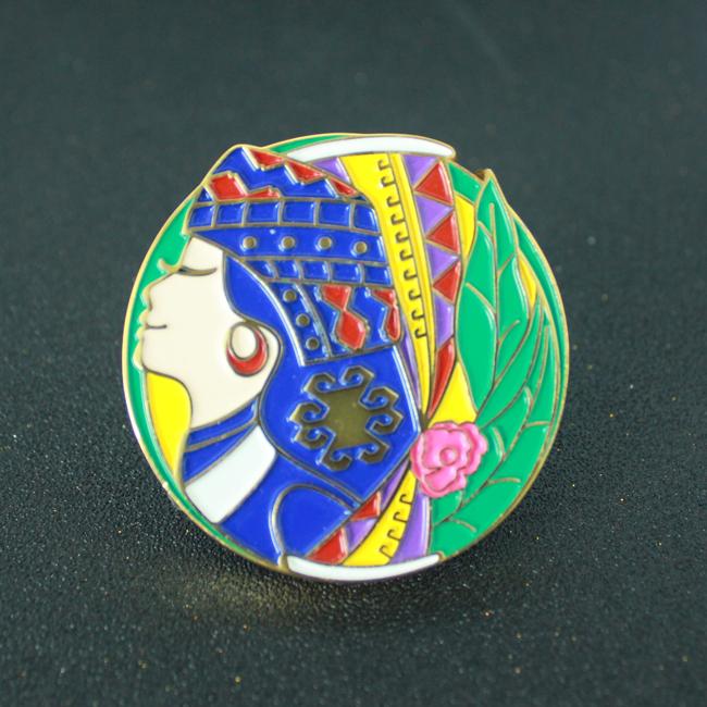 个性金属可定制设计徽章厂家